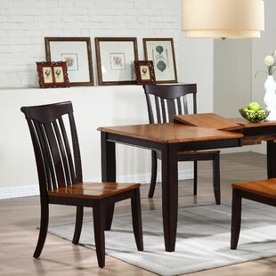 Modern Solid Wood Dining Chair (Set of 2)..