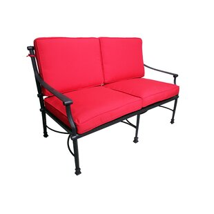 Juanita Deep Seating Loveseat with Cushions by Alcott Hill