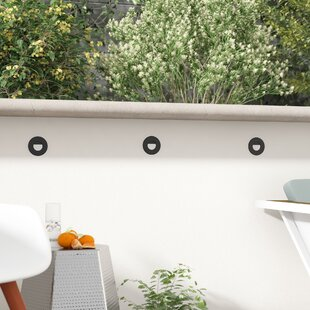 Brayden Studio Toups Outdoor Flush Mount