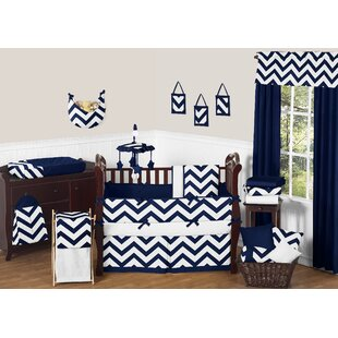 Looking for Chevron 9 Piece Crib Bedding Set By Sweet Jojo Designs