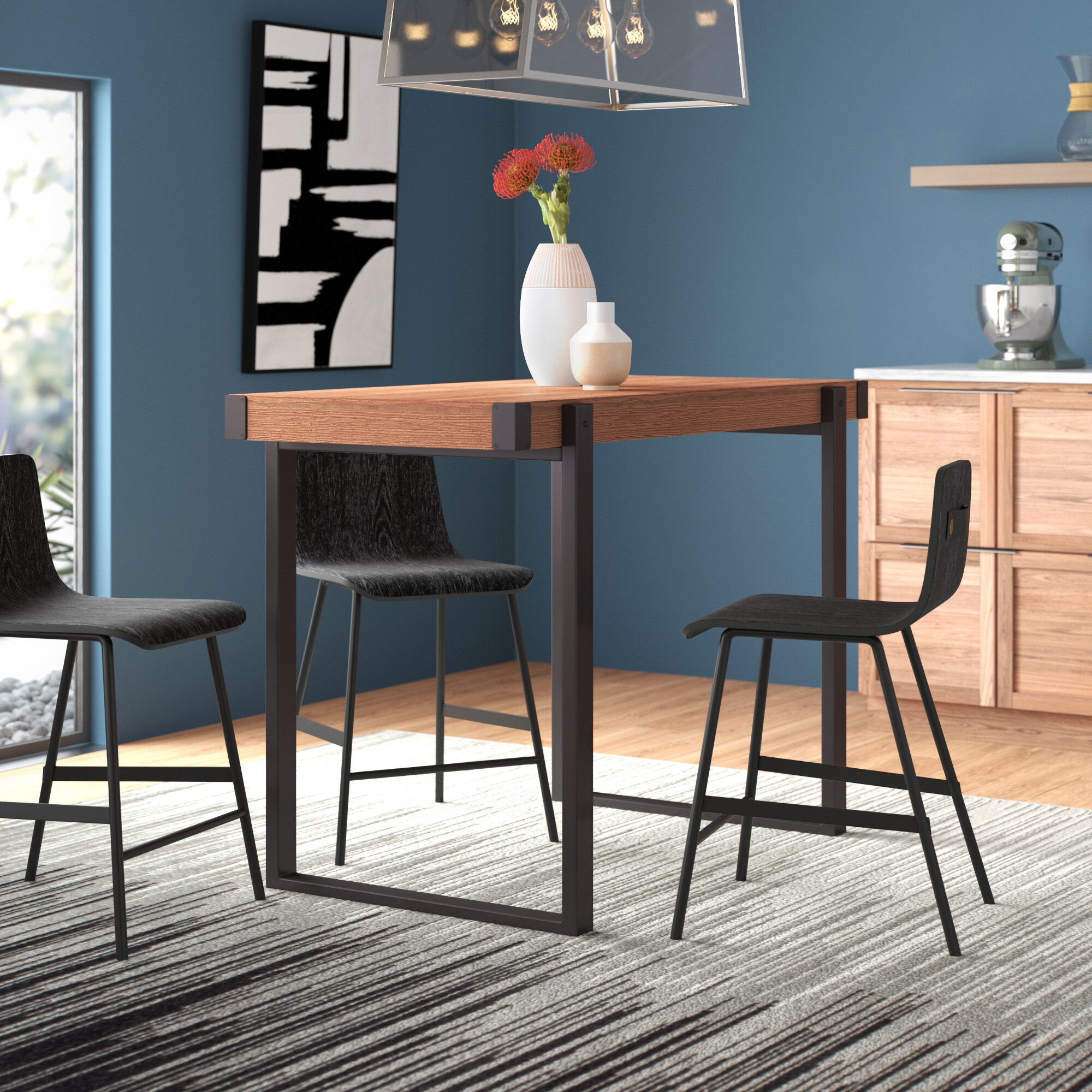 Cesar Counter Height Dining Table Reviews Allmodern