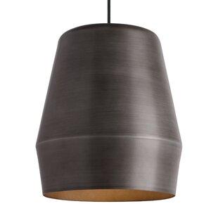 Brennon 1-Light Bell Pendant