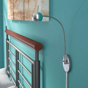 Latitude Run Deepraj Wall LED Swing Arm Lamp