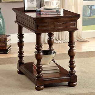Trend Shanita End Table with Storage By Astoria Grand