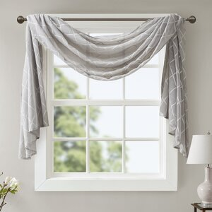 Sylvan Solid Sheer Window Scarf