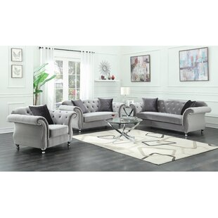 Georgie Standard Configurable Living Room Set by Rosdorf Park