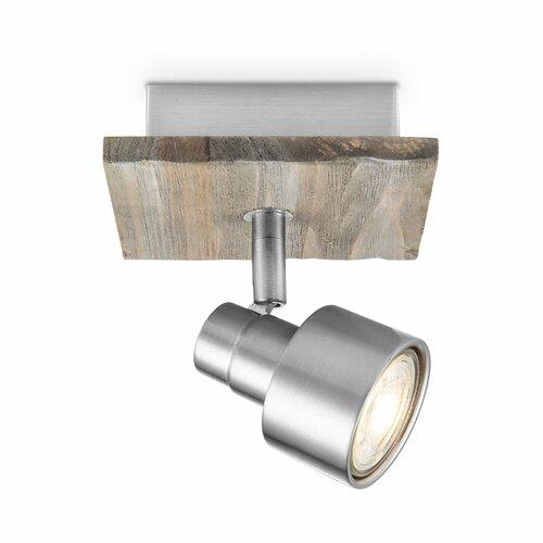 Lavergne 1-Light LED Ceiling Spotlight Latitude Run