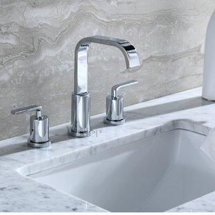Luxier Contemporary Widespread Handle Bathro..