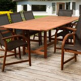 Arthen Extendable Solid Wood Dining Table