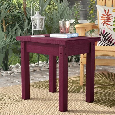 Sandiford Plastic Side Table by Beachcrest Home Amazing