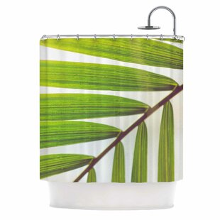 Ann Barnes Jungle Abstract Single Shower Curtain