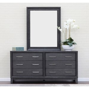 Chelsea 6 Drawer Standard Dresser by Home Image