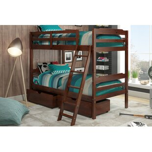 Brian Twin over Twin Bunk Bed with Drawers