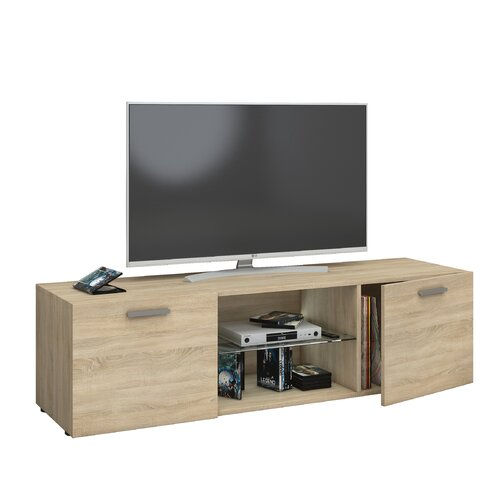 TV-Lowboard Fella   Wohnzimmer > TV-HiFi-Möbel > TV-Lowboards   Beige   Holzwerkstoff   17 Stories