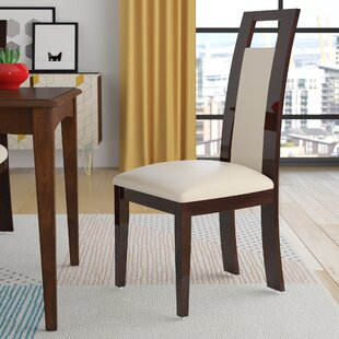 Straughter Upholstered Dining Chair (Set of 2) (Set of 2) by Brayden Studio