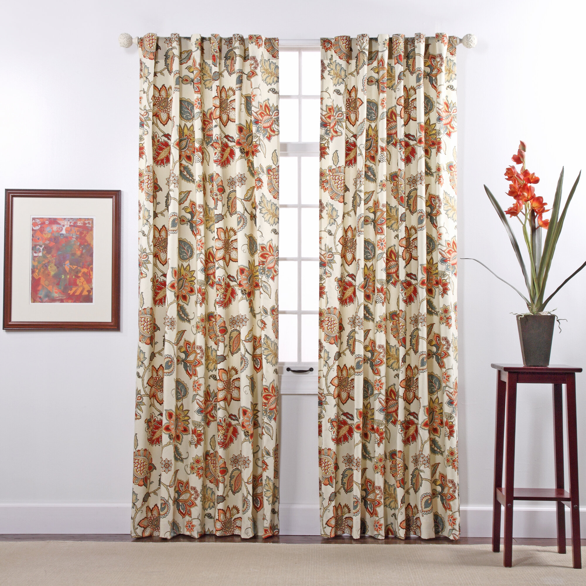 pair panels free heavy accc window curtain orange shipping curtains fifika lala today home pocket garden rod print overstock bash chevron panel product blackout