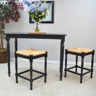 Emilia 3 Piece Pub Table Set August Grove