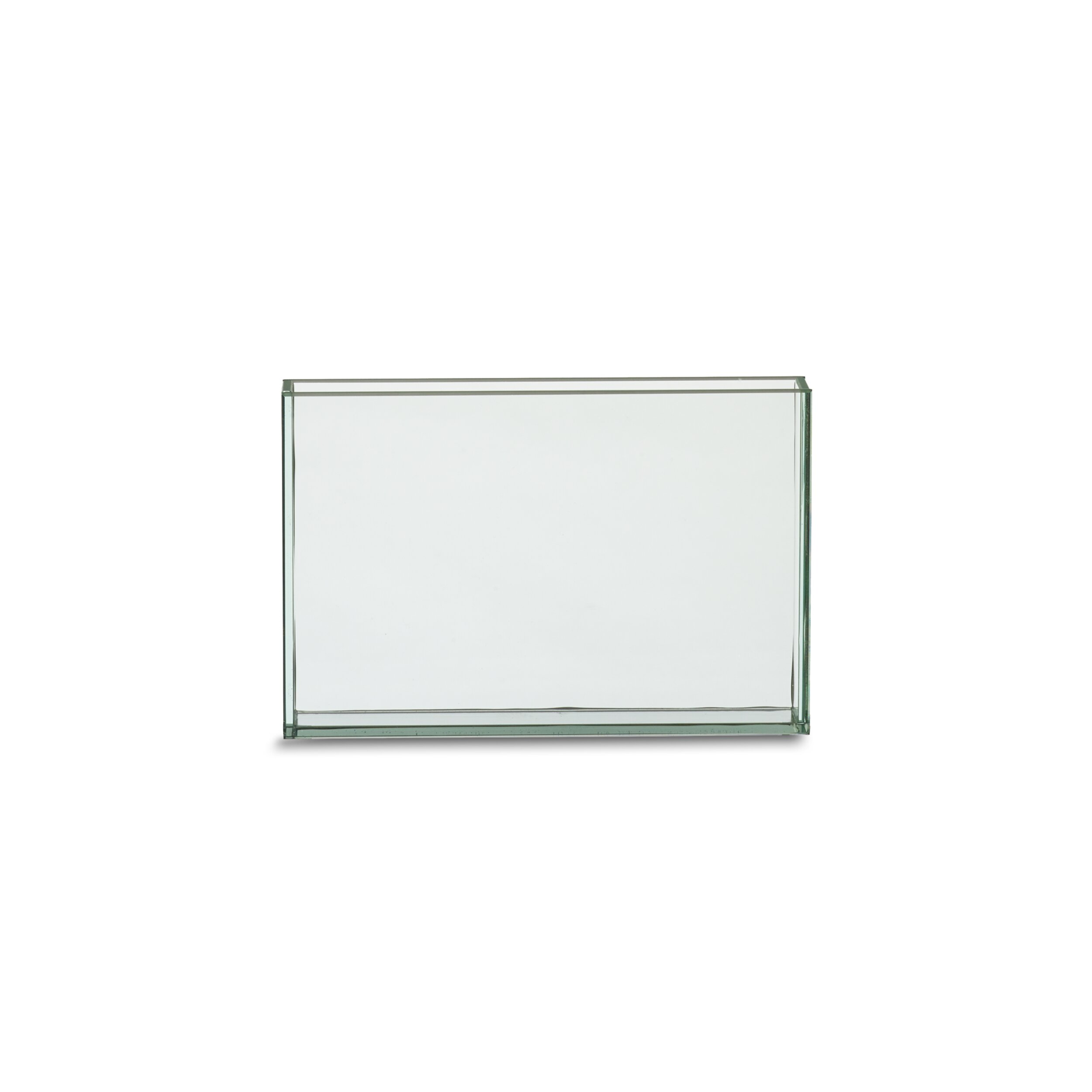 Ebern Designs Afaan Clear Glass Table Vase Wayfair