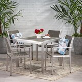 Smedley Buckle 5 Piece Dining Set