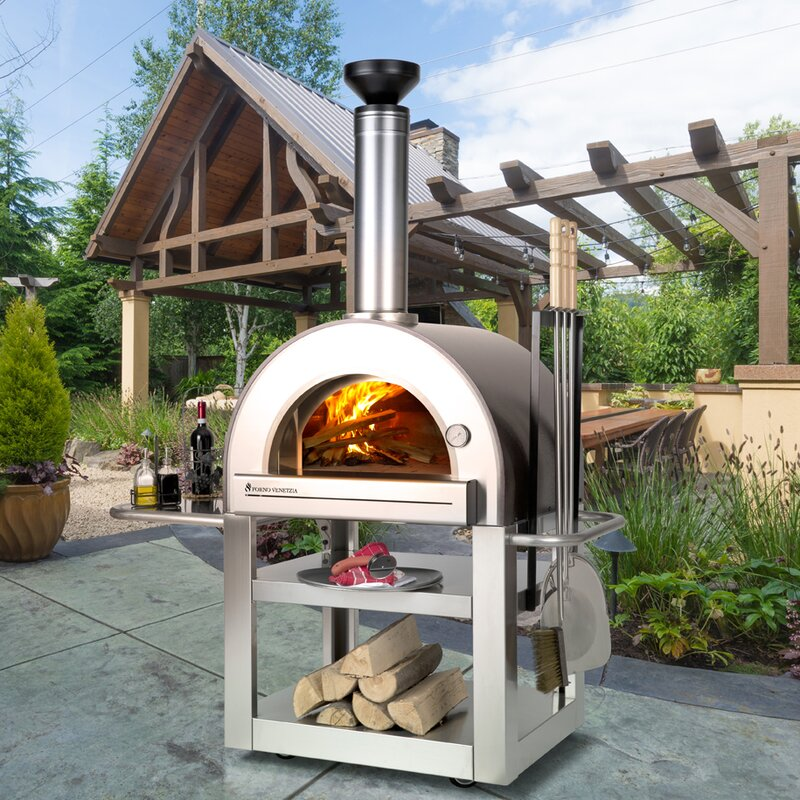 outdoor pizza oven lp gas ovens build wood fired plans