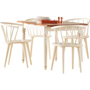 Damon 5 Piece Dining Set by Alcott Hill