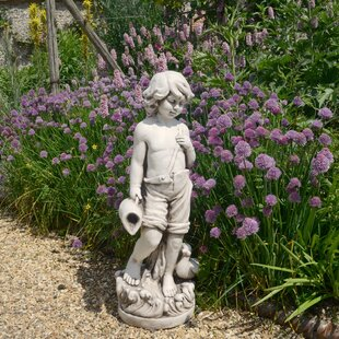 Antique Stone Effect Statue By Sol 72 Outdoor