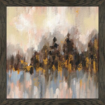 """'Blushing Forest I' Acrylic Painting Print Union Rustic Size: 39.5"""" H x 39.5"""" W x 0.75"""" D"""