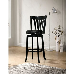 Arguello Swivel Bar Stool by Winston Porter