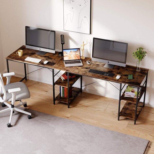 Wz Computer Side Table,Laptop Desk forliving Room Bedroom Sofa Bed Laptop Desk with Storage Magazine Rack Snack Table Color : White