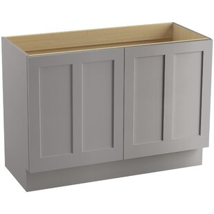 Affordable Price Poplin™ 48 Vanity Base Only with Toe Kick and 2 Doors ByKohler
