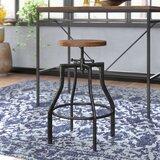 Adah Adjustable Height Swivel Bar Stool by Trent Austin Design®