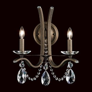 Schonbek Vesca 2-Light Candle Chandelier