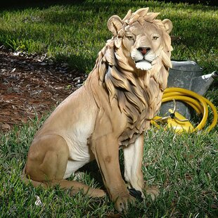 King Of Beasts Lion Statue By Design Toscano