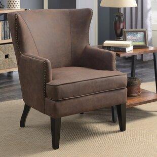 Williston Forge Mcclanahan Grandeur Wingback Chair
