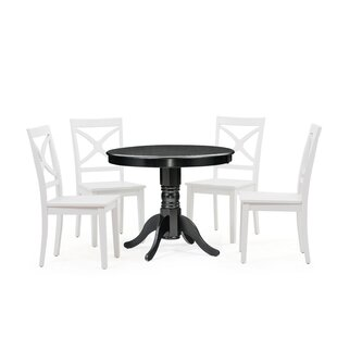Cedarville 5 Piece Solid Wood Dining Set Cheap