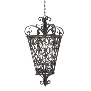 Read Reviews Millbrook 8-Light Outdoor Hanging Lantern By Three Posts