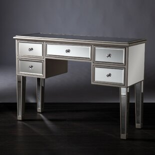 Luedtke Mirrored Console Table