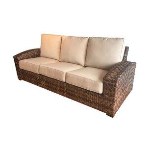 Bayou Breeze Kellar Sunbrella Patio Sofa with Cushions
