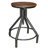 Armour Adjustable Height Bar Stool by Williston Forge