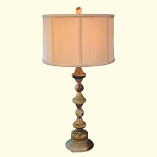 Chartreuse Marble 31.5 Table Lamp