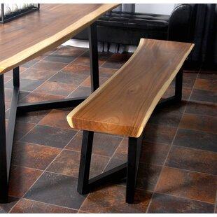 Willson Wood Bench by Brayden Studio