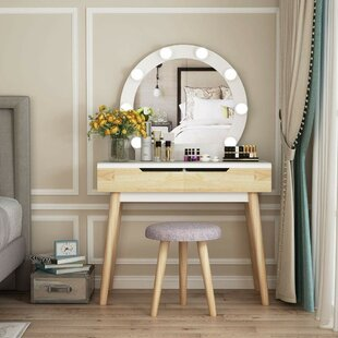 Fine Hermanson Vanity Set Mirror Gmtry Best Dining Table And Chair Ideas Images Gmtryco
