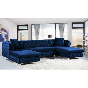 Navy Blue Sectional Sofa Wayfair