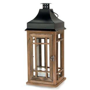 Stain Wood Lantern by Loon Peak