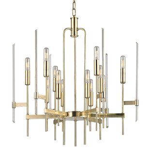 Everly Quinn Stuttgart 12-Light Chandelier