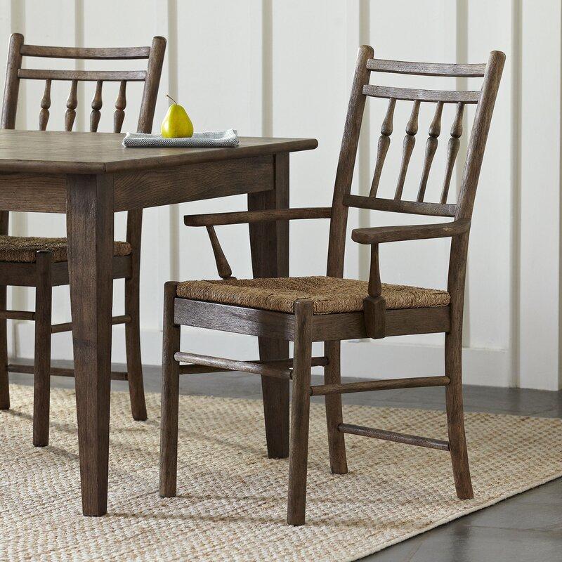 Birch Lane™ Riverbank Dining Room Arm Chair Wayfair Fascinating Arm Chair Dining Room