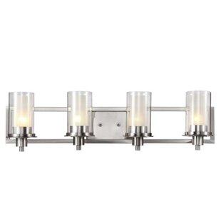 Check Prices Sandusky 4-Light Vanity Light By Latitude Run