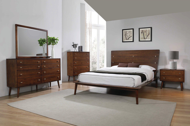 Corrigan Studio Megane Platform Solid Wood Configurable Bedroom Set Reviews Wayfair