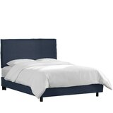 Courtney Solid Wood and Upholstered Standard Bed by Wayfair Custom Upholstery™