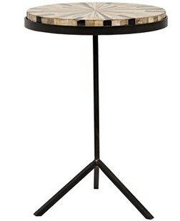 Katana End Table by Noir